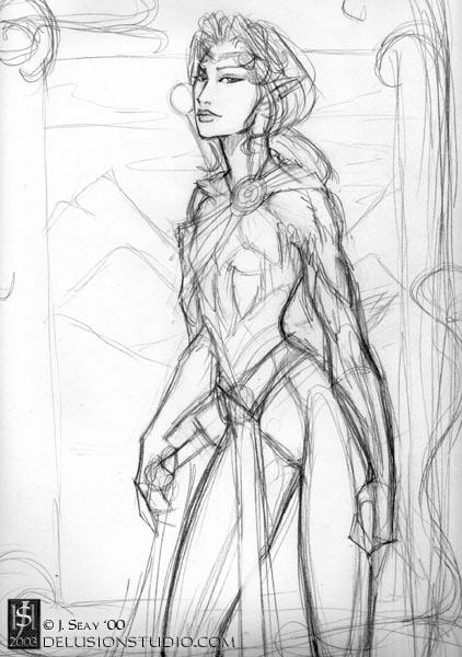 Forest Elf sketch