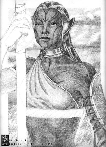 Plainswoman (unfinished)