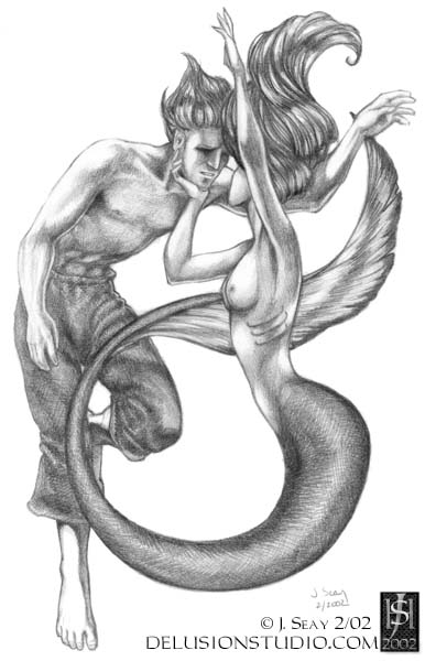 Mermaid and the Sailor