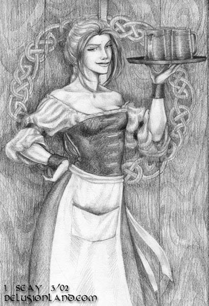Dark Mysteries: Adria (barmaid)