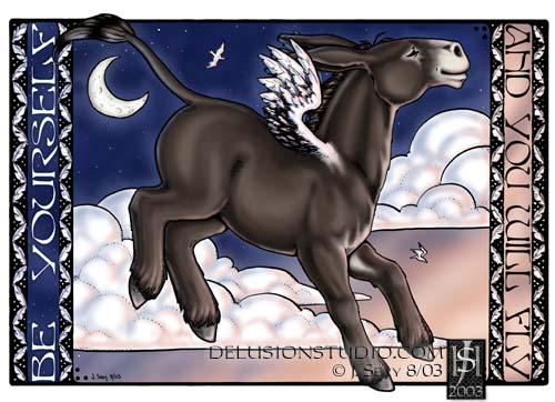 Donkeyfeathers